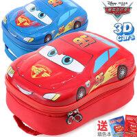 迪士尼幼儿园汽车书包男童麦昆小孩2-3-5儿童学前班宝宝双肩背包6