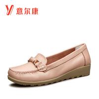 意尔康女鞋2016新款女士单鞋6662ZE29867W