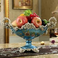【支持礼品卡支付】欧式奢华水果盘客厅创意家用茶几多功能简约现代ktv 酒店美式果盆