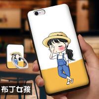 苹果iphone 6plus手机壳 iPhone6splus软套 苹果6plus 手机壳套 保护套 个性创意挂绳指环卡