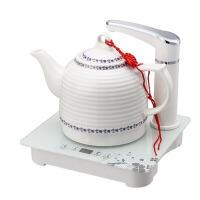 陶瓷电热水壶泡茶烧水壶自动上水家用快速抽水煮茶器一套装