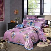 【包邮】伊迪梦家纺 床上用品多件套绣花欧式色织大提花床单/床盖款式四件套六件套八件套婚庆十件套OJ01
