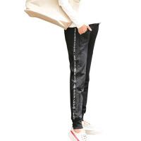 孕妇裤秋装外穿孕妇长裤收脚孕妇休闲裤运动裤潮高腰托腹裤子