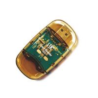 SSK/飚王 SD卡读卡器 数码相机内存卡读卡器 水晶SD 读卡器 SCRS026读卡器