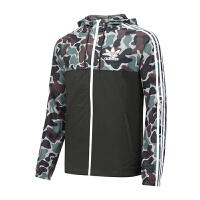 Adidas阿迪达斯 男装 2017新款三叶草运动休闲防风夹克外套 BS4907 现