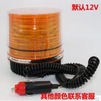 圆形超亮LED吸顶校车灯报警灯工程灯汽车车载警示灯爆闪灯12V24v 汽车用品