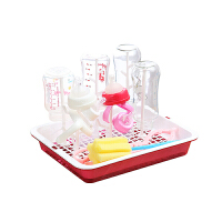 W婴儿奶瓶干燥架尘沥水架晾干收纳支架宝宝水杯晾晒架放杯架托盘O