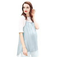 防辐射服孕妇装孕妇防辐射衣服背心四季内穿可洗银纤维吊带夏