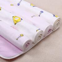 贝爽美尔 婴儿隔尿垫防水可洗超大纯棉纱布姨妈月经垫新生儿用品 大号