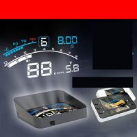 车载导航HUD抬头显示器投影仪OBD行车电脑车速数字汽车平视仪