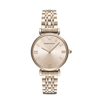 阿玛尼(Emporio Armani)手表 满天星商务个性时尚腕表简约钢带石英女表AR11059