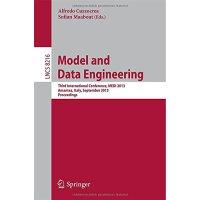 【预订】Model and Data Engineering 9783642413650