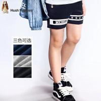 【3折价:59.7元】暇步士童装男童夏季新款纯棉炫酷时尚三分裤