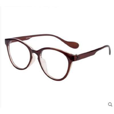 一体式眼镜大框圆脸眼镜框架女近视眼睛配眼镜潮可配光学配镜时尚复古 品质保证,支持货到付款 ,售后无忧