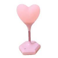 新生儿小夜灯婴儿喂奶护眼led充电爱心少女节能可爱床头台灯礼物