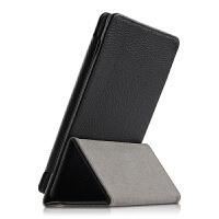Kindle Paperwhite4保护套6寸第十代电子书阅读器皮套 黑色【头层牛皮】送贴膜