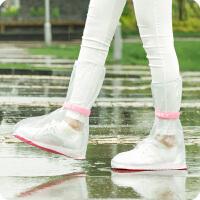 户外旅行防雨防水鞋套 男女中高筒防滑雨靴套 加厚耐磨雨天雨鞋