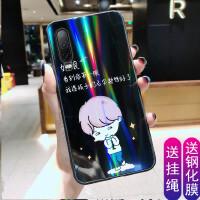 华为P30手机壳加钢化膜eleal00玻璃面ele-aloo保护套p3O个性新款