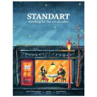 进口原版年刊订阅 STANDART 咖啡文化独立杂志 斯洛伐克英文原版 年订4期