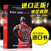 现货 英文原装 迈克尔 乔丹自传 Michael Jordan: The Life 传记 Roland Lazenby