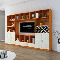 客厅高柜款储物书柜现代简约小户型多功能简易主卧室电视柜组合墙o1k