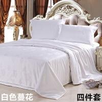 棉被套单件全棉 60支秋冬1.5米1.8m床贡缎提花200x230被罩