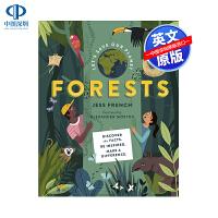 英文原版 拯救地球:森林 精装 Let's Save Our Planet: Forests 科普绘本 Alexande