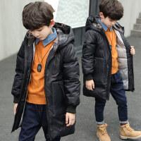男童棉衣2018新款冬装童装儿童中长款男孩棉袄中大童冬季外套