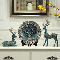 居家装饰挂件摆件鹿创意欧式家居电视柜客厅装饰品摆件美式玄关乔迁新居礼品