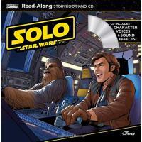 英文原版 星球大战:游侠索罗 迪士尼朗读故事书+CD Solo: A Star Wars Story Read-Alo