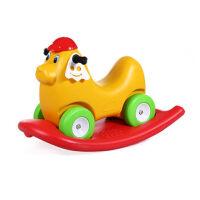塑料木马滑步车摇马二合一玩具礼物1-3岁