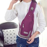 新款胸包女斜挎包帆布包女包休闲单肩包背包户外运动女士包小包包