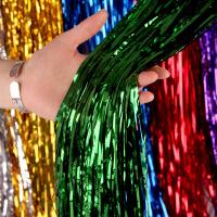 雨丝帘婚房装饰用品拉花生日派对布置彩带活动舞台背景墙