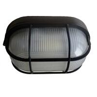 铝户外壁灯防水防潮防爆椭圆过道卫生间阳台室外LED复古吸顶灯