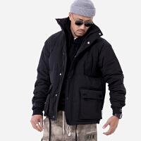男士羽绒服短款保暖上衣冬季立领潮工装外套