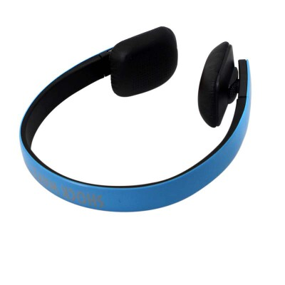 shockwave冲击波 SHB-921BH 蓝牙无线双用耳机  亮蓝色头戴式HiFi立体声内置麦可通话 海绵套