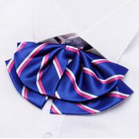 新款红玫女领花带水手服学院风飘带韩版领结蝴蝶结领