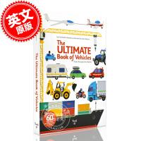 现货 英文原版 The Ultimate Book of Vehicles From Around the World