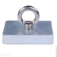 强力磁铁吸铁石 稀土大号钕磁石长方形铷死亡钕铁硼打捞磁王 78*58*18mm