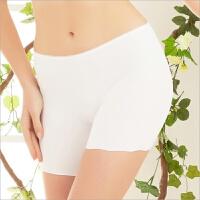 女士冰丝打底裤夏季薄款无痕安全裤三分平角内裤短裤