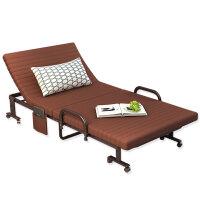 办公室钢丝午休折叠床午睡单人床医院陪护床行军简易床躺椅1.2米