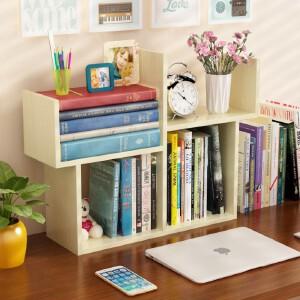 幽咸家居 桌面小书架简易桌上迷你书架简约现代学生书柜儿童书桌置物收纳架