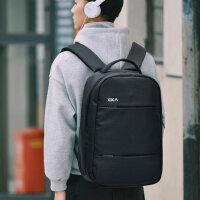 商务双肩包男15.6寸背包出差必备14寸笔记本电脑包旅行日系书包女