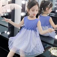 女童连衣裙夏装2019新款小女孩短袖儿童夏天公主裙子