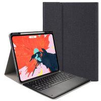 2018新款苹果ipadpro11蓝牙键盘保护套带笔槽可充电12.9英寸苹果平板电脑壳子网红超薄无线 全面屏iPad