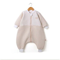 婴儿宝宝睡袋 春秋纯棉儿童分腿防踢被 薄款薄棉四季通用防蹬被