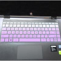 惠普(HP)星14-ce1006TX 14英寸轻薄笔记本电脑键盘保护贴膜i5-8265U按键防尘套凹