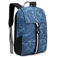 男士休闲双肩电脑包2019新款充电撞色背包旅行包双肩背包