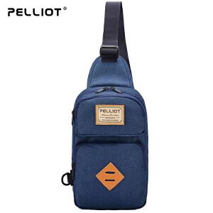 【五一出游特惠】法国PELLIOT运动单肩包男女 多功能户外包小肩包运动包 休闲斜挎包