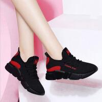 运动鞋 女士登山旅游跑步鞋春季新款女式韩版潮流学生休闲网布单鞋子